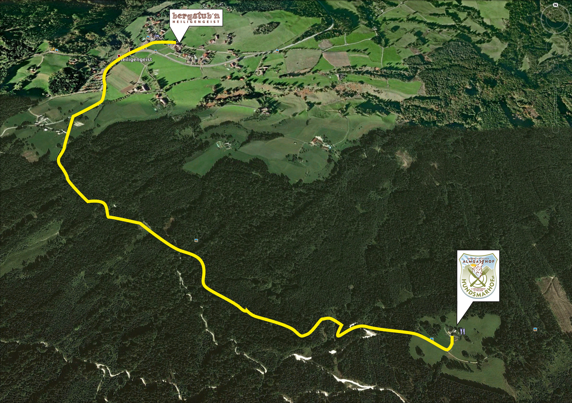 Hundsmarhof-Wanderweg